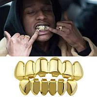 Грилзы GRILZ зубы накладные золотистые