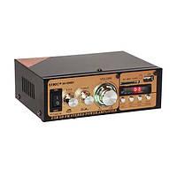 Усилитель звука с пультом Bluetooth 2х30 Вт MP3 USB Micro SD FM UKC AK-699BT