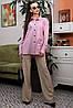 Модная женская рубашка свободного кроя /разные цвета, S-XL, SEV-1327.4012/, фото 5