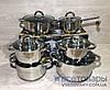 Набір каструль Edenberg Eb-4012, 4 каструлі, кухлик, сковорідка