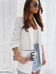 Пиджак женский удлиненный стильный весенний размер 42 44 Новинка 2020 есть цвета