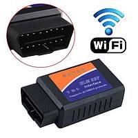 Диагностический OBD2 сканер адаптер ELM327 Wifi (поддержка IOS, Android), фото 1