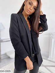 Пиджак удлиненный женский стильный размер 42 44 Новинка 2020 есть много цветов