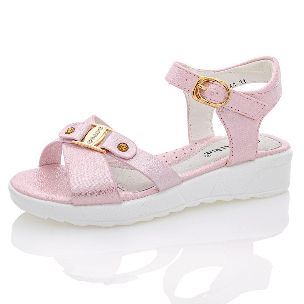 Босоножки для девочек Yalike 27  розовый 980963