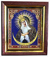 Икона Божией Матери «Остробрамская» (деревянная рамка)