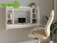 Компьютерный навесной стол, прямой, письменный стол из ДСП (4 ЦВЕТА) / Сделаем по Вашим размерам!