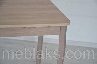 Стол Классик с фигурными деревянными ногами 93 см х 60см х 75 см Ясень/Ясень Тавол, фото 3