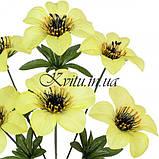 Искусственные цветы букет колокольчик Пчелка, 34см, фото 2