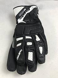Кожаные мотоперчатки Wint-2 Black B87 итальянской маркиSPIDI  размер L