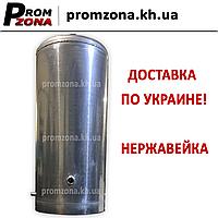 Бак для дровяного титана - колонки на 80 л - 38 см (нержавейка)
