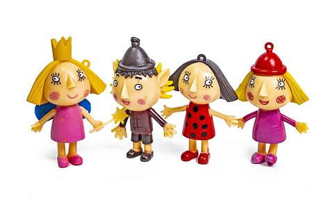 """Набор игровых фигурок BEN & HOLLY """"Маленькое королевство Бена и Холли"""" 4 персонажа в блистере 53022"""