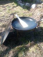 Сковорода из диска бороны Комплект (сковорода+крышка+чехол) 30 см.