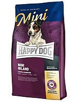 Mini Irland 4кг Корм сухой для взрослых собак малых пород Супер-премиум класс (60111, Happy Dog, Хэппи Дог)