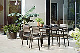 Стол садовый уличный Keter Metalea Table, фото 3