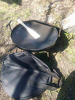 Сковорода из диска бороны Комплект (сковорода+крышка+чехол) 40 см.