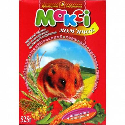 Макси корм хомячок, 525 г + мелок, фото 2
