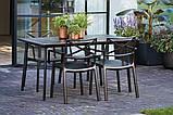 Стол садовый уличный Allibert Metalea Table, фото 6