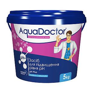 Средство для повышения уровня РН воды бассейна - РН плюс гранулированный AquaDOCTOR, 5 кг