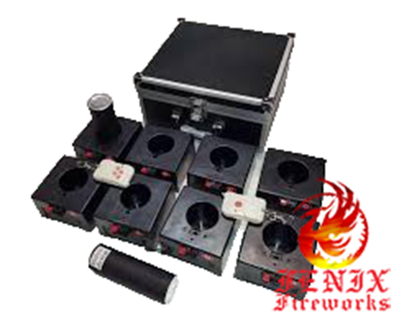 Пульт для запуска сценических фонтанов на дистанционном управлении (8 стаканов, каналов)