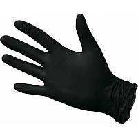 Перчатки нитриловые неопудренные , черные, Размер  L