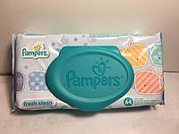 Дитячі вологі серветки Pampers Baby Fresh Clean 64 шт.
