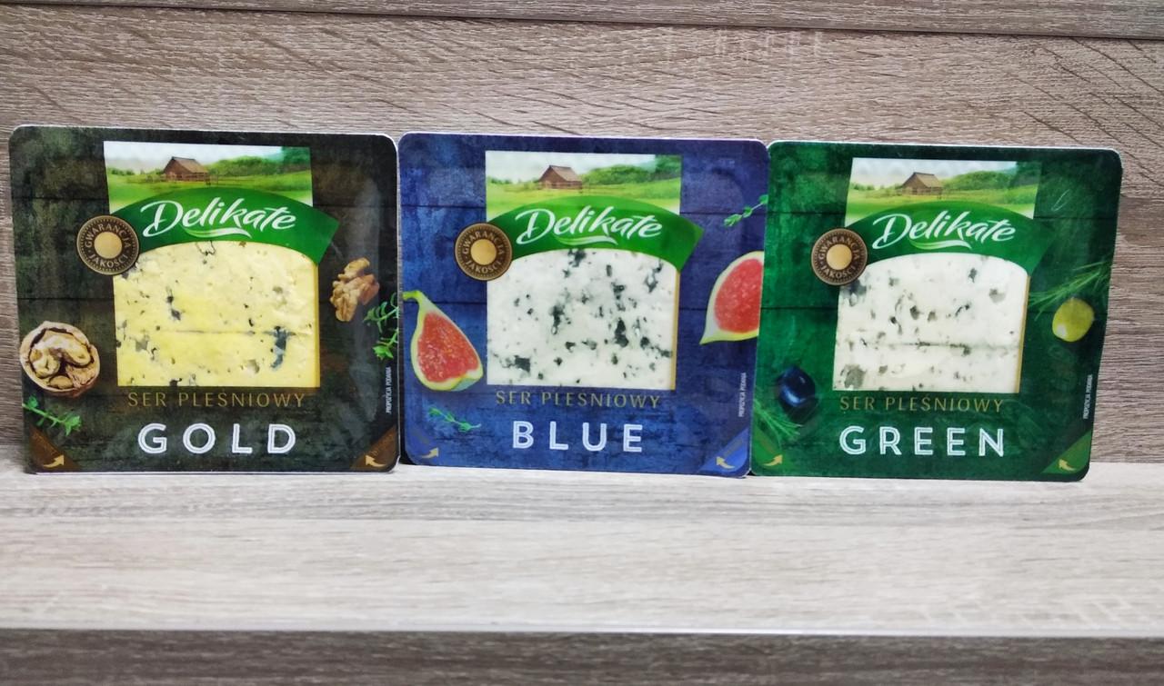 Сир з пліснявою Delikate Польща 100 гр.
