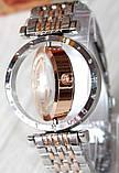 Наручные кварцевые часы HS0006 Комбинация золота и серебра, фото 5