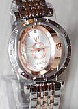 Наручные кварцевые часы HS0006 Комбинация золота и серебра, фото 6