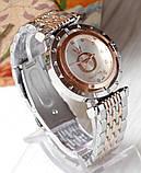 Наручные кварцевые часы HS0006 Комбинация золота и серебра, фото 2