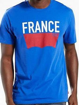 Мужская футболка Levi's® Country Tee - France