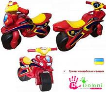 Мотоцикл Doloni червоний Поліція толокар беговел каталка Долони