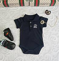 Хлопковый бодик Gucci, фото 1
