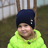 Шапка весенняя для ребенка и взрослого, фото 2