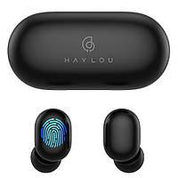 Наушники Haylou GT1 Pro TWS с функцией Handsfree Black (QT-HaylouGT1proBk)