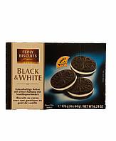 Печиво feiny biscuits black&white (чорно-біле), (типу орео) 176г