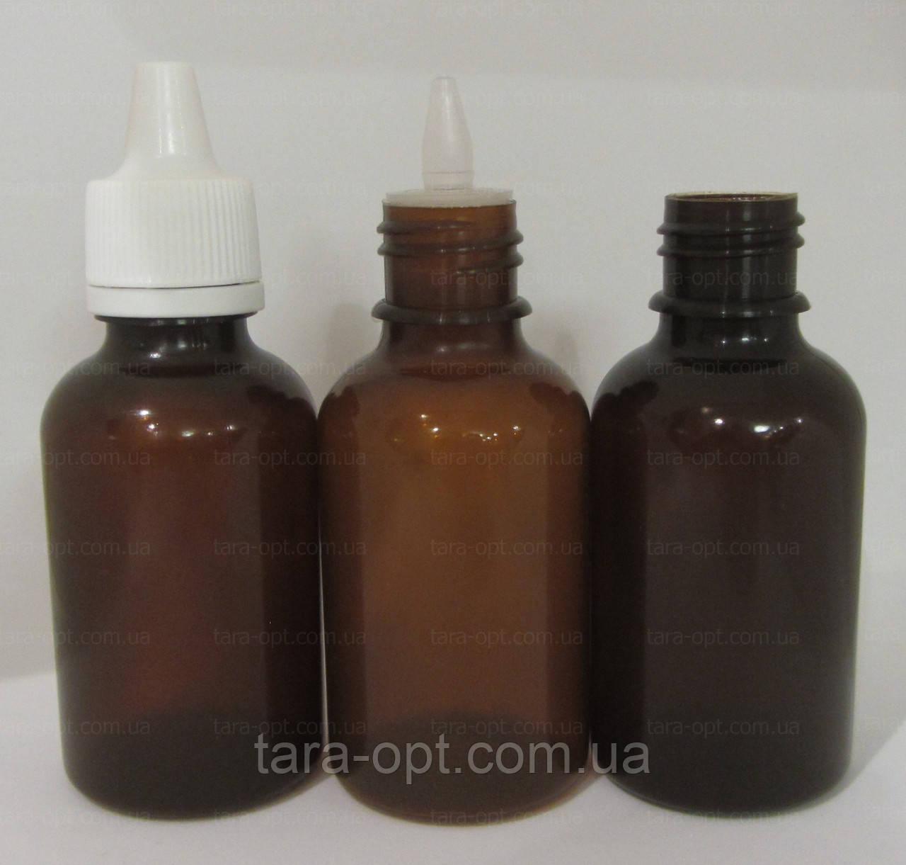 Флакони 50 мл, коричнева пляшечка, (Ціна від 3,25 грн)*