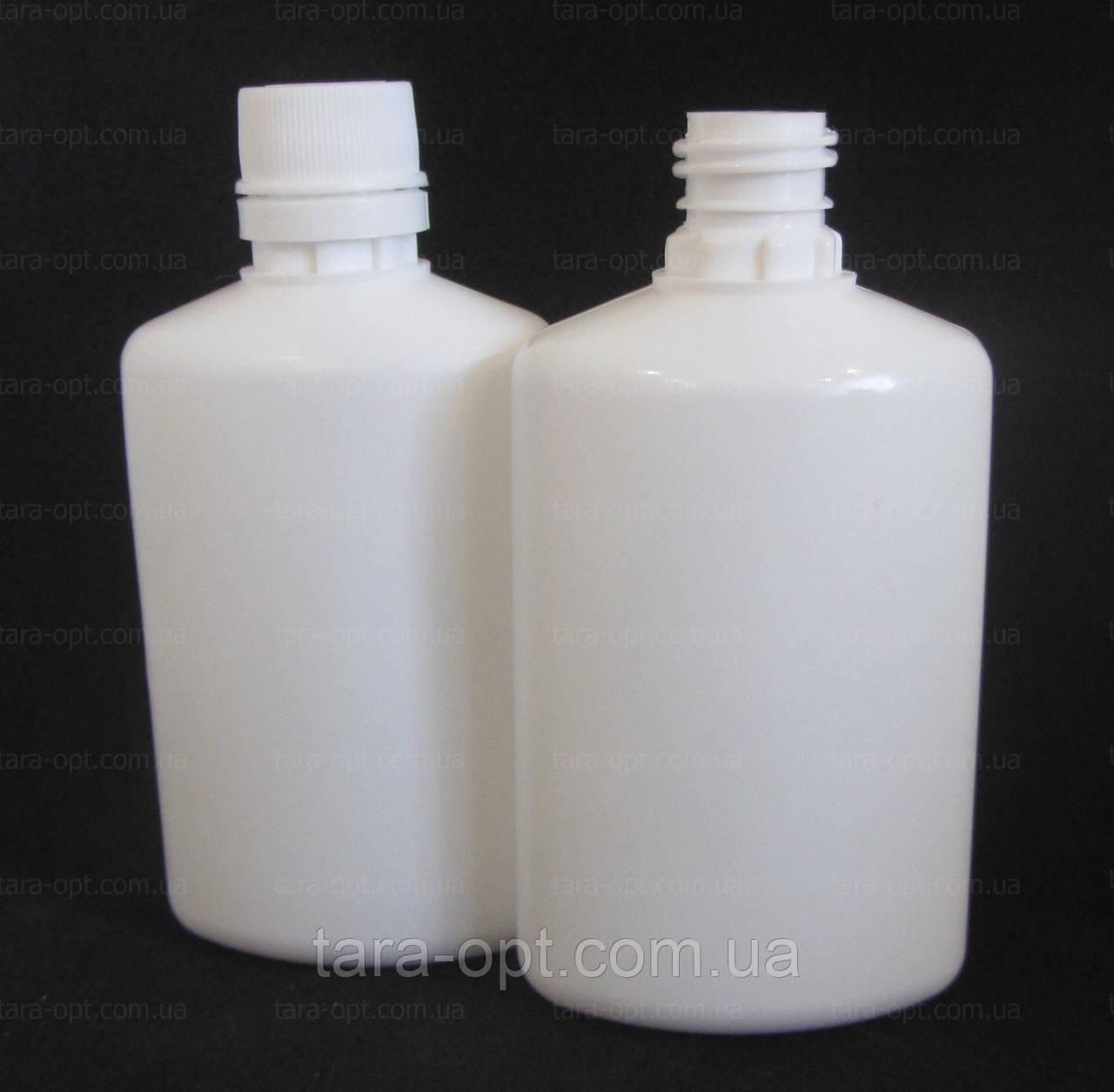 Флакон овальный 50 мл, белый, (Цена от 2,75 грн)*