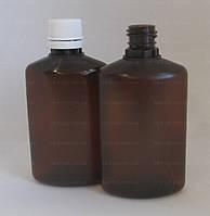 Флакон овальний 50 мл, коричневий, (Ціна від 2,75 грн)*