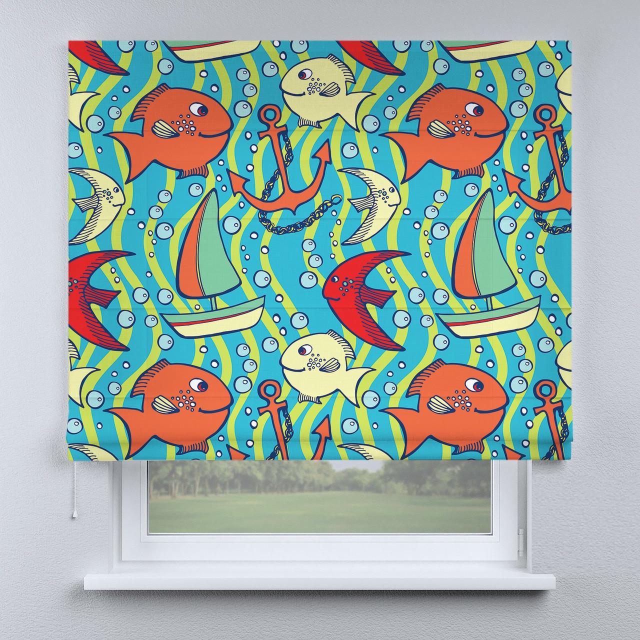 Римська фото штора Рибки