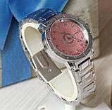 Наручные кварцевые часы HS0031. Серебряного цвета, фото 3