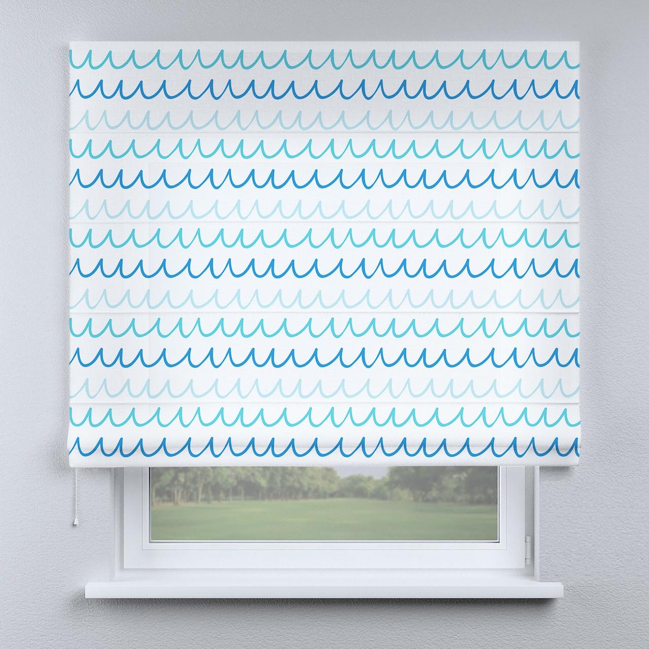 Римская фото штора Волны