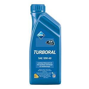 Полусинтетическое моторное масло Aral Turboral 10W-40 1л