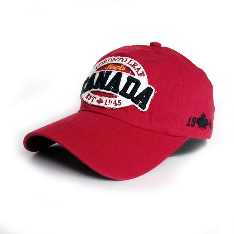 Модная бейсболка Canada  Sport Line - №2427