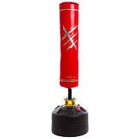 Мешок боксерский напольный водоналивной h-170см SC-87257 Красный