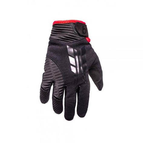 Велосипедные перчатки B10 NC-3155-2018-A Размер L, черные, фото 2