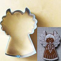 Формочка (вырубка, каттер) Ангел, для пряников и печенья