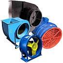Вентиляционное оборудование, вентиляторы