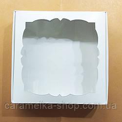 Коробка для пряників з віконцем 15*15см