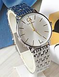 Наручные кварцевые часы HS0041 Серебряного цвета, фото 5