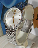 Наручные кварцевые часы HS0041 Серебряного цвета, фото 4